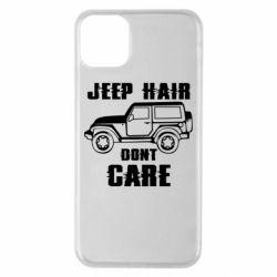 Чохол для iPhone 11 Pro Max Jeep hair don't care