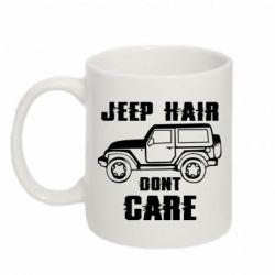 Кружка 320ml Jeep hair don't care