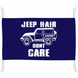 Прапор Jeep hair don't care