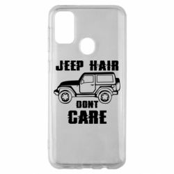 Чохол для Samsung M30s Jeep hair don't care