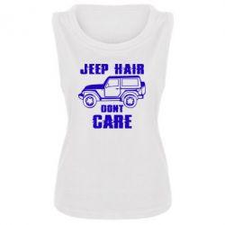 Майка жіноча Jeep hair don't care