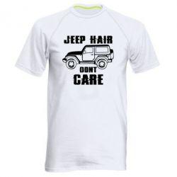 Чоловіча спортивна футболка Jeep hair don't care