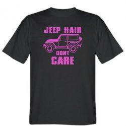 Чоловіча футболка Jeep hair don't care