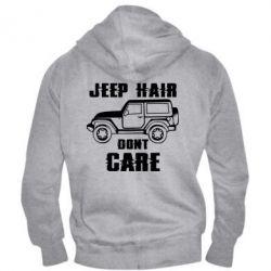 Чоловіча толстовка на блискавці Jeep hair don't care