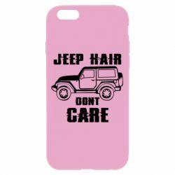Чохол для iPhone 6/6S Jeep hair don't care