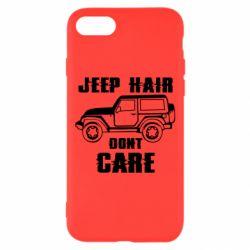 Чохол для iPhone 7 Jeep hair don't care