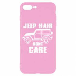 Чохол для iPhone 7 Plus Jeep hair don't care