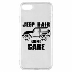 Чохол для iPhone 8 Jeep hair don't care