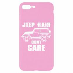 Чохол для iPhone 8 Plus Jeep hair don't care