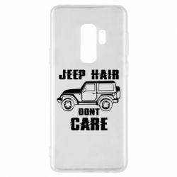 Чохол для Samsung S9+ Jeep hair don't care