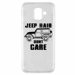 Чохол для Samsung A6 2018 Jeep hair don't care