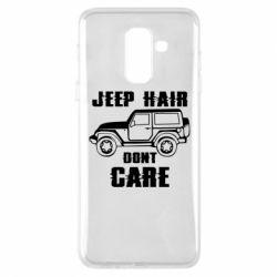 Чохол для Samsung A6+ 2018 Jeep hair don't care