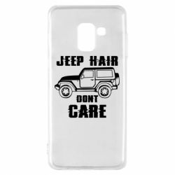 Чохол для Samsung A8 2018 Jeep hair don't care