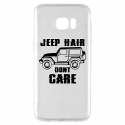 Чохол для Samsung S7 EDGE Jeep hair don't care