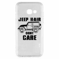 Чохол для Samsung A3 2017 Jeep hair don't care