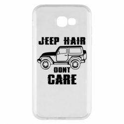 Чохол для Samsung A7 2017 Jeep hair don't care