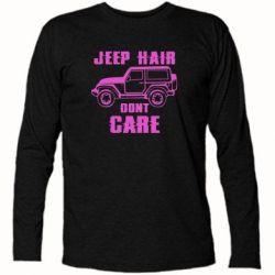 Футболка з довгим рукавом Jeep hair don't care