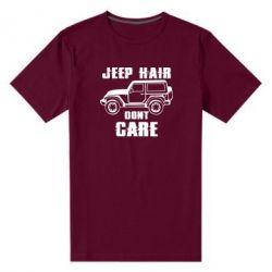 Чоловіча стрейчева футболка Jeep hair don't care