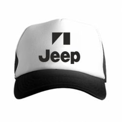 Кепка-тракер Jeep Logo - FatLine
