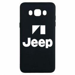 Чехол для Samsung J7 2016 Jeep Logo