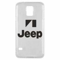 Чехол для Samsung S5 Jeep Logo