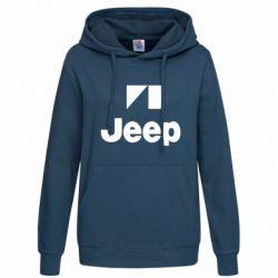 Женская толстовка Jeep Logo - FatLine