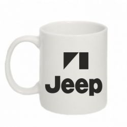 Кружка 320ml Jeep Logo - FatLine