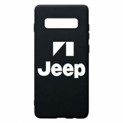 Чехол для Samsung S10+ Jeep Logo