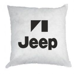 Подушка Jeep Logo - FatLine