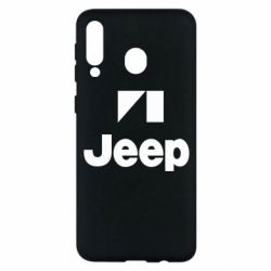 Чехол для Samsung M30 Jeep Logo