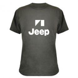 Камуфляжная футболка Jeep Logo - FatLine