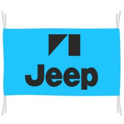 Флаг Jeep Logo