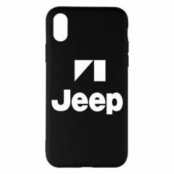 Чехол для iPhone X/Xs Jeep Logo