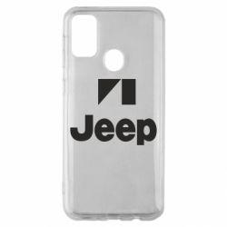 Чехол для Samsung M30s Jeep Logo