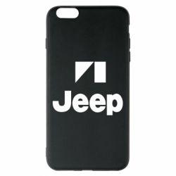 Чехол для iPhone 6 Plus/6S Plus Jeep Logo