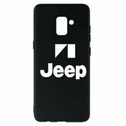 Чехол для Samsung A8+ 2018 Jeep Logo