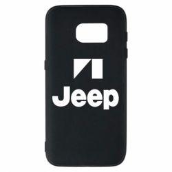Чехол для Samsung S7 Jeep Logo