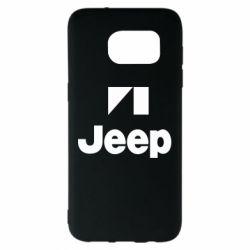 Чехол для Samsung S7 EDGE Jeep Logo