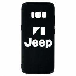 Чехол для Samsung S8 Jeep Logo