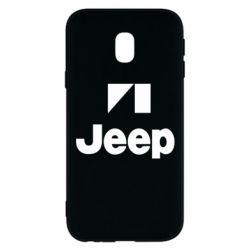 Чехол для Samsung J3 2017 Jeep Logo
