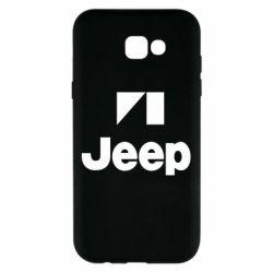 Чехол для Samsung A7 2017 Jeep Logo