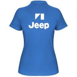 Женская футболка поло Jeep Logo - FatLine