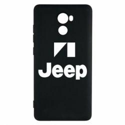 Чохол для Xiaomi Redmi 4 Jeep Logo