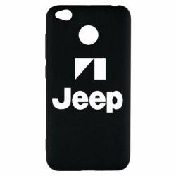 Чохол для Xiaomi Redmi 4x Jeep Logo