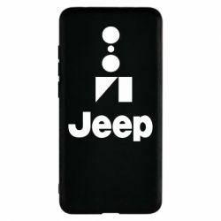 Чохол для Xiaomi Redmi 5 Jeep Logo