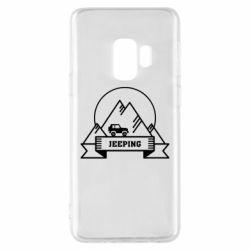 Чохол для Samsung S9 Jeep Mountains