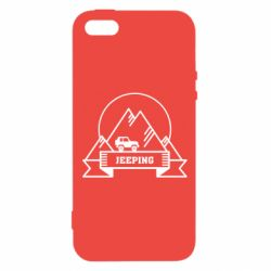 Чохол для iphone 5/5S/SE Jeep Mountains