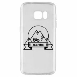 Чохол для Samsung S7 Jeep Mountains