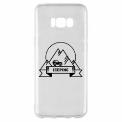Чохол для Samsung S8+ Jeep Mountains