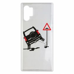 Чохол для Samsung Note 10 Plus Jeep pissing on the sign